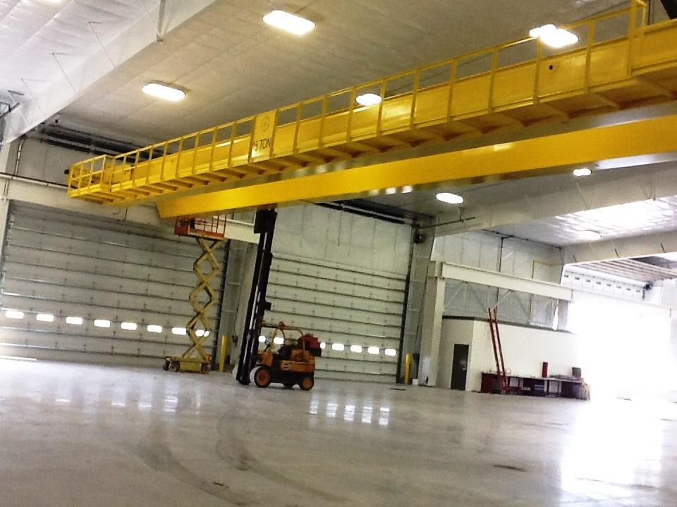 Vigo Machine Bridge Cranes Vigo Machine Shop